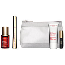 Buy Clarins Super Restorative Total Eye Concentrate, 15ml and Wonder Perfect Mascara, 01 Wonder Black with FREE Summer Beauty Duo Online at johnlewis.com