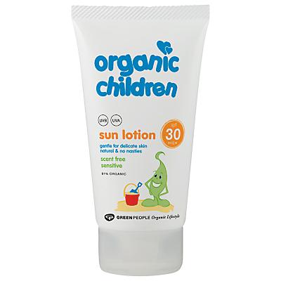 Organic Children SPF 30 Sun Lotion, 150g