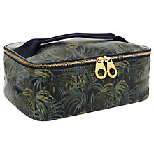 Buy House of Hackney Palmeral Print Travel Wash Bag, Midnight Online at johnlewis.com