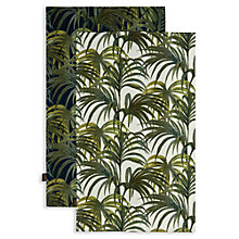 Buy House of Hackney Palmeral Print Tea Towels, Set of 2 Online at johnlewis.com