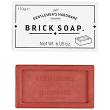 Buy Gentlemen's Hardware Brick Soap Online at johnlewis.com