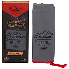 Buy Gentlemen's Hardware Travel Towel Online at johnlewis.com