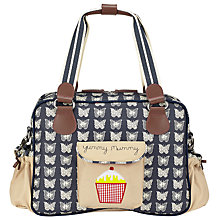 Buy Pink Lining Yummy Mummy Butterfly Changing Bag, Cream/Navy Online at johnlewis.com