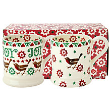 Buy Emma Bridgewater Christmas Half Pint Mugs, Set of 2 Online at johnlewis.com