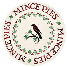 Buy Emma Bridgewater Christmas Joy Robin Plate, 22cm Online at johnlewis.com