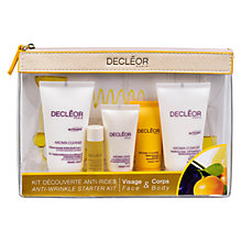 Buy Decléor Wrinkle Smoothing Discovery Kit Online at johnlewis.com