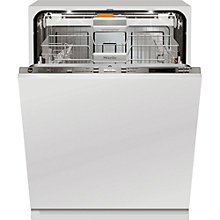 Buy Miele G 6583 SCVI K20 Integrated Dishwasher, White Online at johnlewis.com