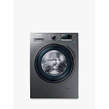 Buy Samsung WW90J6410CX Freestanding Washing Machine, 9kg Load, A+++ Energy Rating, 1400rpm Spin, Graphite Online at johnlewis.com