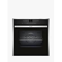 Buy Neff B17CR32N1B CircoTherm® Single Electric Oven, Stainless Steel Online at johnlewis.com