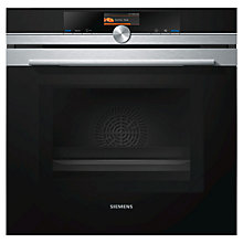 Buy Siemens iQ700 HM676G0S1B Built-in Electric Oven with Microwave Function, Stainless Steel Online at johnlewis.com