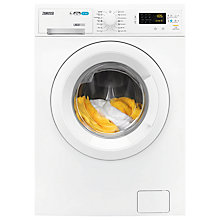 Buy Zanussi ZWD81663W Washer Dryer, 8kg Wash/4kg Dry Load, A Energy Rating, 1600rpm Spin, White Online at johnlewis.com