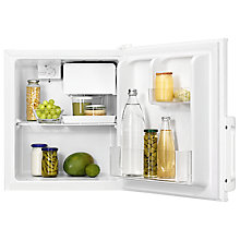Buy Zanussi ZRX51100WA Freestanding Compact Fridge, A+ Energy Rating, 44cm Wide, White Online at johnlewis.com