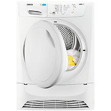 Buy Zanussi ZDP7203 Condenser Freestanding Tumble Dryer, 7kg Load, B Energy Rating, White Online at johnlewis.com
