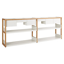 Buy Case Lap Low 2m Shelving Unit (Plus V2 Extension Kit) Online at johnlewis.com