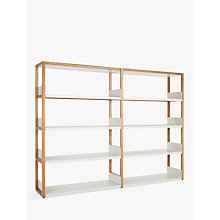 Buy Case Lap Medium 1m Shelving Unit (Plus V1 Extension Kit) Online at johnlewis.com