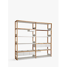 Buy Case Lap Tall 2m Shelving Unit (Plus V2 Extension Kit) Online at johnlewis.com