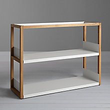 Buy Case Lap Low Shelving Units Living Room Furniture Range Online at johnlewis.com