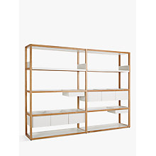 Buy Case Lap Medium 2m Shelving Unit (Plus V2 Extension Kit) Online at johnlewis.com