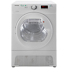 Buy Hoover DYH9913NA1X Freestanding Condenser Tumble Dryer, 9kg Load, A+ Energy Rating, White Online at johnlewis.com