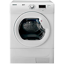 Buy Hoover DYC7813NB Freestanding Sensor Condenser Tumble Dryer, 8kg Load, B Energy Rating, White Online at johnlewis.com