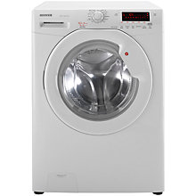 Buy Hoover WDYN10743D Freestanding Washer Dryer, 10kg Wash/1kg Dry Load, A Energy Rating, 1400rpm Spin, White Online at johnlewis.com