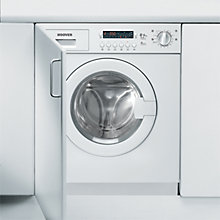 Buy Hoover HDB854DN/1 Integrated Washer Dryer, 9kg Wash/5kg Dry Load, A Energy Rating, 1400rpm Spin, White Online at johnlewis.com
