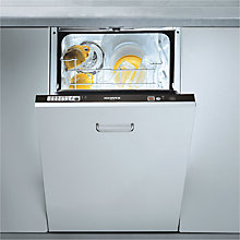 Buy Hoover HFI550/E Integrated Slimline Dishwasher Online at johnlewis.com