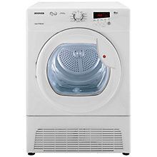 Buy Hoover VTC791NB Condenser Tumble Dryer, 9kg Load, B Energy Rating, White Online at johnlewis.com