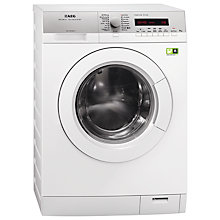 Buy AEG L79485FL Freestanding Washing Machine, 8kg Load, A+++ Energy Rating, 1400rpm Spin, White Online at johnlewis.com