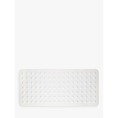 John Lewis White In-Bath Mat