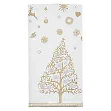 Buy John Lewis Enchantment Table Cover, Gold Online at johnlewis.com