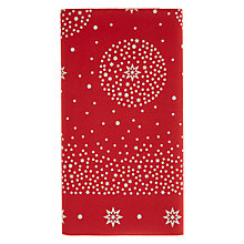 Buy John Lewis Red Star Table Cover, Multi Online at johnlewis.com