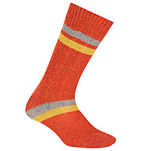 Buy JOHN LEWIS & Co. Irregular Stripe Silk Blend Socks, One Size Online at johnlewis.com