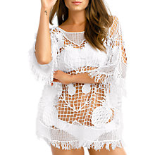 Buy Seafolly Plantation Kaftan, White, One Size Online at johnlewis.com