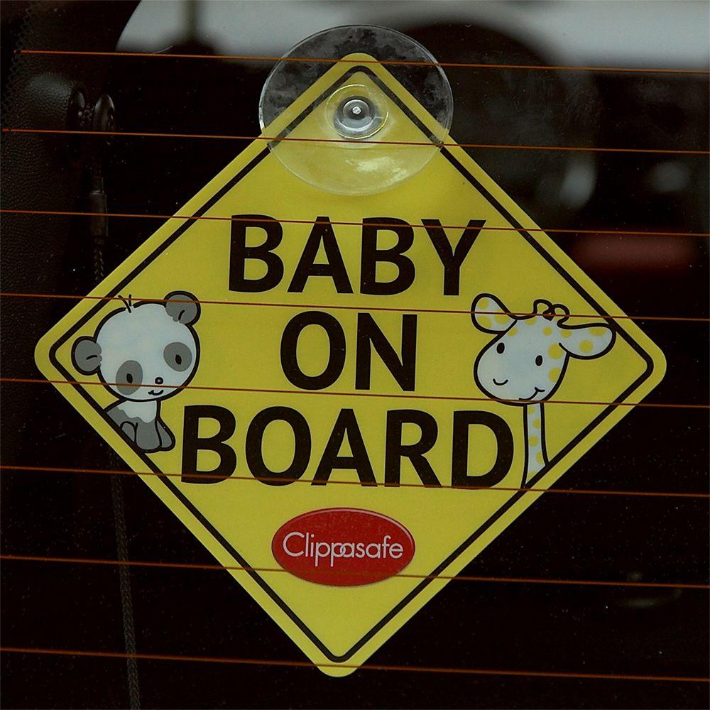 Clippasafe Clipasafe Baby On Board Sign
