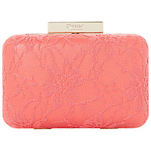 Buy Dune Bellarose Box Clutch Bag Online at johnlewis.com