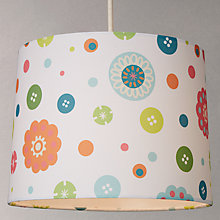 Buy little home at John Lewis Birds & Buttons Lampshade Online at johnlewis.com
