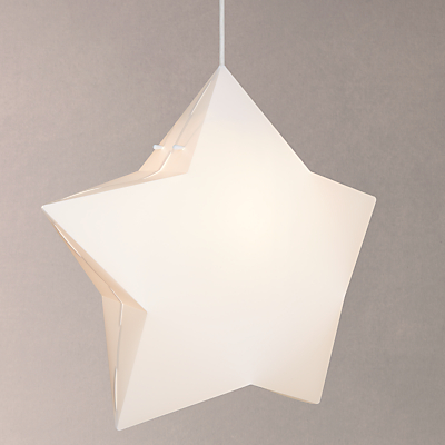 little home at John Lewis Star Pendant Ceiling Light