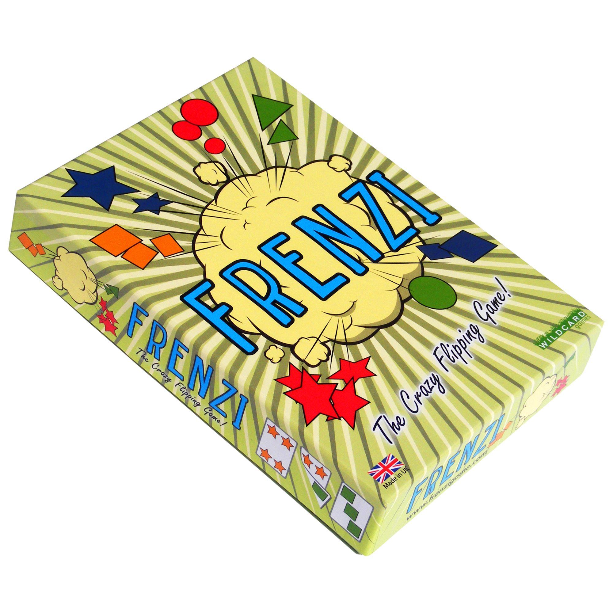 Wild Card Games Frenzi Game