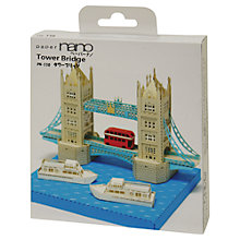 Buy Paper Nano Tower Bridge Online at johnlewis.com