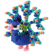 Buy Nanoblock Peacock Online at johnlewis.com