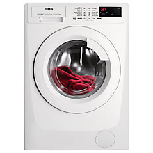 Buy AEG L68470FL Freestanding Washing Machine, 7kg Load, A+++ Energy Rating, 1400rpm Spin, White Online at johnlewis.com