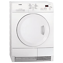 Buy AEG T65370AH3 Heat Pump Tumble Dryer, 7kg Load, A+ Energy Rating, White Online at johnlewis.com