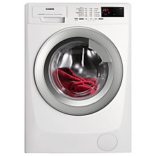 Buy AEG L68270VF Freestanding Washing Machine, 7kg Load, A+++ Energy Rating, 1200rpm Spin, White Online at johnlewis.com