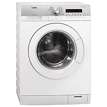Buy AEG L76275FL Freestanding Washing Machine, 7kg Load, A+++ Energy Rating, 1400rpm Spin, White Online at johnlewis.com
