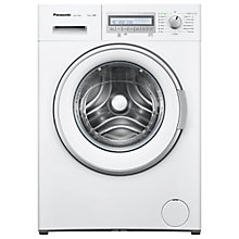 Buy Panasonic NA-127VB6W Freestanding Washing Machine, 7kg Load, A+++ Energy Rating, 1200 rpm Spin, White Online at johnlewis.com