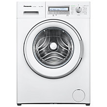 Buy Panasonic NA-148VB6WGB Freestanding Washing Machine, 8kg Load, A+++ Energy Rating, 1400 rpm Spin, White Online at johnlewis.com