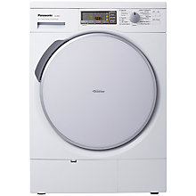 Buy Panasonic NH-P8BH1WGB Heat Pump Tumble Dryer, 8kg Load, A++ Energy Rating, White Online at johnlewis.com