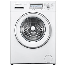 Buy Panasonic NA-147VB6WGB Freestanding Washing Machine, 7kg Load, A+++ Energy Rating, 1400 rpm Spin, White Online at johnlewis.com