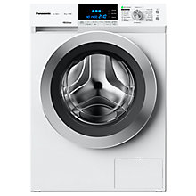 Buy Panasonic NA-148XR1WGB Freestanding Washing Machine, 8kg Load, A+++ Energy Rating, 1400 rpm Spin, White Online at johnlewis.com